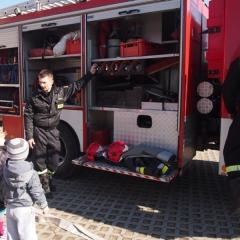2015 - przedszkolaki u strażaków